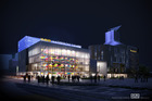 The ASB Waterfront Theatre is officially opened on Thursday morning.