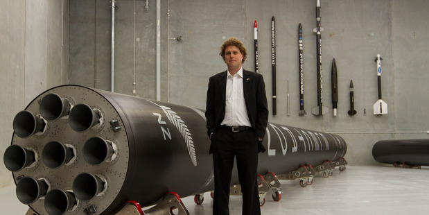 Rocket Lab chief executive Peter Beck. Photo / Geoff Dale