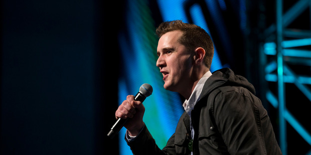 Singer Joe Irvine still can't bear to watch any replays of the X Factor. Photo / Supplied