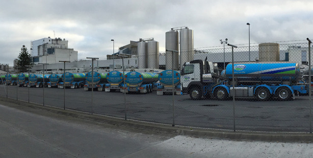 Fonterra's factory in Hawera. Photo / Mark Mitchell