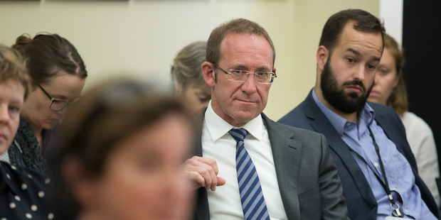 Labour leader Andrew Little has confirmed two senior hires ahead of 2017. NZ Herald photo by Mark Mitchell.