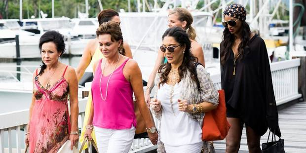 The Real Housewives in Port Douglas before the racial controversy occurred. Photo / Bravo TV Facebook