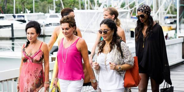 The Real Housewives of Auckland on their trip to Port Douglas. Photo/ Bravo's Facebook page