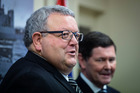 Gerry Brownlee blasted the treasury report,  saying it was done by people who
