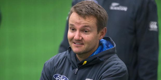 New Zealand Cricket Team coach Mike Hesson. Photo / Mark Mitchell