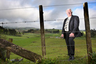 Bob Clarkson plans to transform his rolling Wairoa River valley farm at Tauriko into a massive housing estate. Photo/File