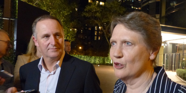 Loading Prime Minister John Key met Helen Clark to discuss her campaign for UN Secretary General at the United Nations earlier this week. Photo/Audrey Young.