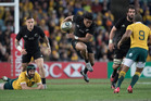 The All Blacks proved far too good for the Wallabies in two tests earlier in the season. Photo / Brett Phibbs