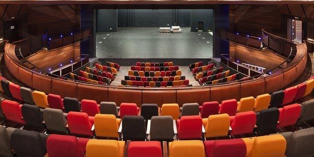 Seating at the ASB Waterfront Theatre. Photo/Simon Devitt