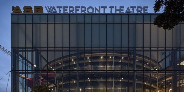 Loading Exterior of the ASB Waterfront Theatre. Photo/Simon Devitt