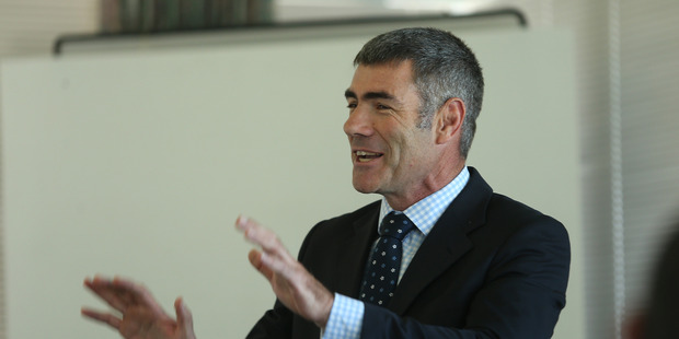 Primary Industries Minister Nathan Guy has defended MPI's policing of commercial fishers. Bay of Plenty Times Photograph by John Borren.