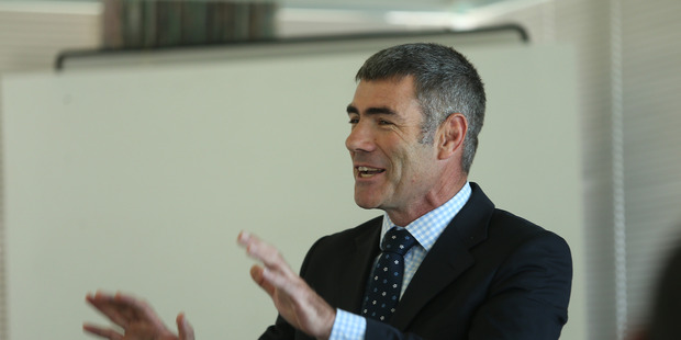 """Primary Industries Minister Nathan Guy says the commercial fishing industry should """"pull up their socks"""". Bay of Plenty Times Photograph by John Borren."""