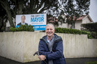 Mayoral candidate Phil Goff had pledged not to take his taxpayer-funded $156,000 annual salary while he was campaigning. Photo / Michael Craig.