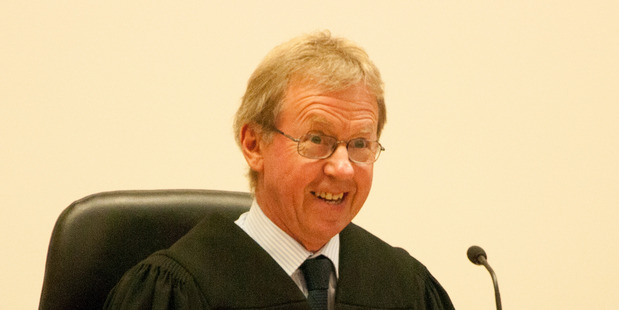 It was a long day for Whanganui District Court Judge Dugald Matheson. PHOTO/ FILE
