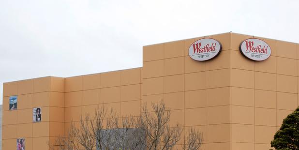 Westfield Westcity mall in Henderson. Photo/Michael Craig