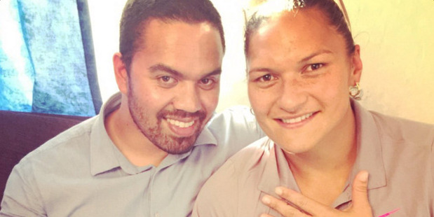 Valerie Adams and Gabriel Price finally have a chance to take their honeymoon, almost half a year after they got married. Photo / Twitter @ValerieAdams84