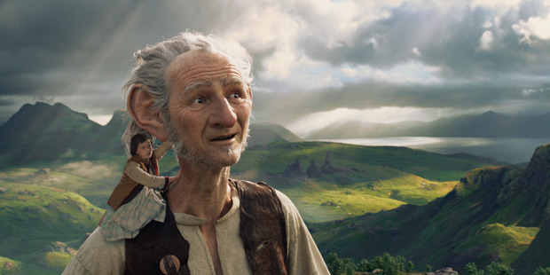 The giants of <i>The BFG</i>, including Mark Rylance's title character, were created by Weta Digital.