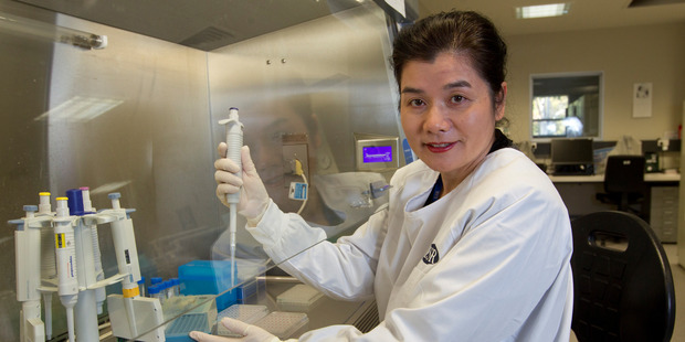 ESR virologist Dr Sue Huang was surprised at the proportion of people who catch the flu each year without realising it. Photo / Mark MItchell