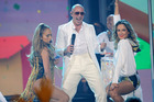 Pitbull is one of the artists that one of the NZ Herald entertainment writers shamefully loves. Photo / AP