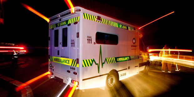 A St John Ambulance spokesman said one female patient was taken to Tokoroa Hospital with  moderate injuries. Photo / File