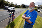 LOOKING FOR CHANGE: Phil Cregeen of Waikaraka wants to see the speed limit on Whangarei Heads Rd lowered.  PHOTO/JOHN STONE