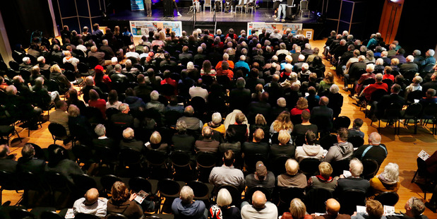 Six mayoral candidates told a 400-strong crowd what they could do for Whangarei, with incumbent Sheryl Mai the favourite on the night.