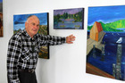 OUT IT GOES: Forbes Roxburgh is putting his collection at Art4You up for auction, starting tomorrow. PHOTO/PETER JACKSON