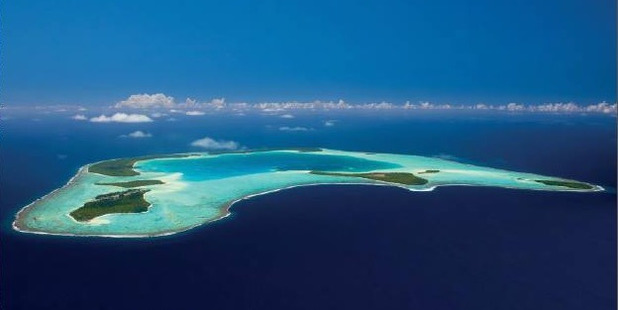 Tetiaroa Atoll - once the vacation spot for Tahitian royalty and known for having been purchased by Marlon Brando.