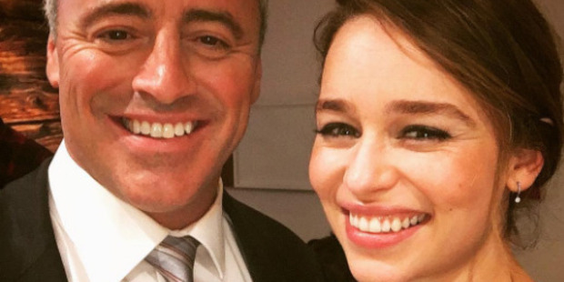 Emilia Clarke fans weren't happy with Matt LaBlanc's creepy comment about the Game of Thrones star. Photo / Instagram