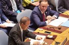 John Key chaired a heated Security Council debate at the United Nations this morning. Photo / NZ Herald