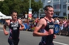 As Jonny Brownlee collapsed close to the finish line at the World Triathlon Series final race in Mexico, his brother Alistair was close on hand to help his brother.