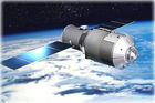An artist's illustration of China's Tiangong-1 space lab. Picture / China Manned Space Engineering