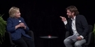 Watch: Hillary Clinton between two ferns