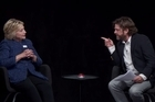 """Source: Funny or Die. Hillary Clinton has appeared on """"Between Two Ferns with Zach Galifianakis"""" with hilarious results, here's a snippet"""