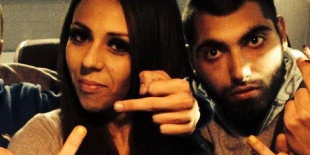 Lexy Jamieson and Azam Charbaji. Photo / via Facebook