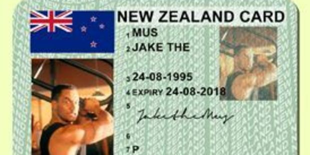 Users can choose the name, age, address and photo they want to appear on the ID without having to prove how old they are. Photo / Supplied