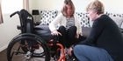 Watch: Gabby Wright talks about the illness which has left her in a wheelchair
