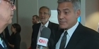 Watch: George Clooney reacts to Brangelina split
