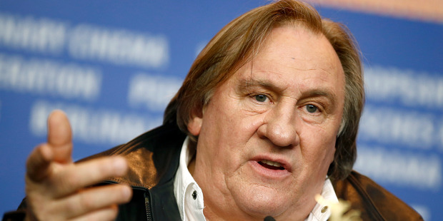 Actor Gerard Depardieu said his homeland France is becoming a playground for foreigners. Photo / AP