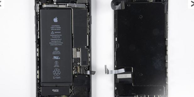 The new iPhone 7 is peeled a part. Photo / Chipworks