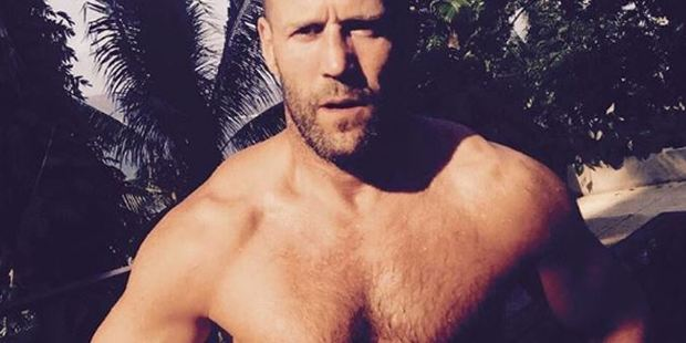 Jason Statham's not one to turn down a challenge. Photo / Instagram