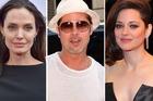Angelina Jolie, Brad Pitt and Marion Cotillard. Photo / Getty Images