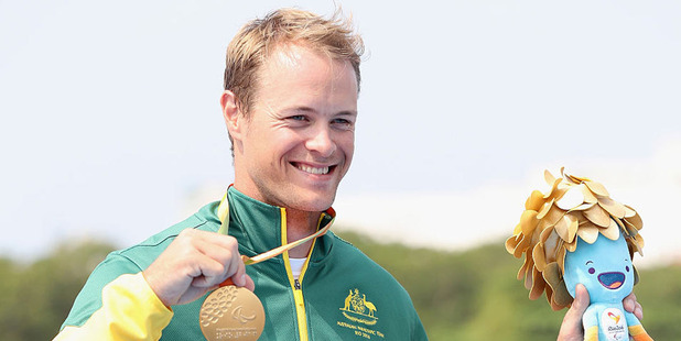 Australian Paralympic gold medallist Curtis McGrath. Photo / Getty