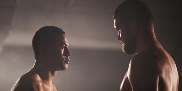 Joseph Parker faces off against Russian boxer Alexander Dimitrenko. Photo / photosport.nz