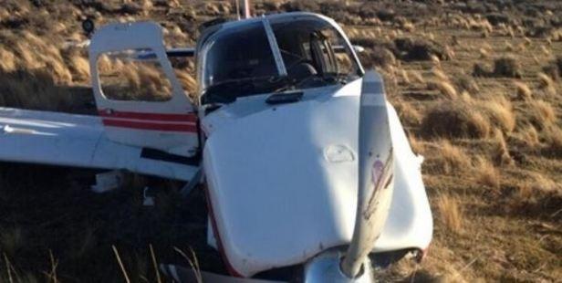 The crash scene near Poolburn in Central Otago. Photo / NZ Police