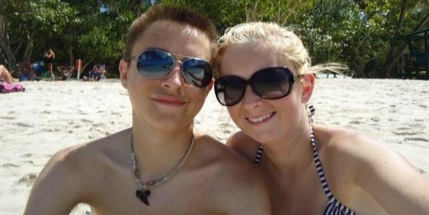 Dalton and Katie met, despite doctors warning it could impact Katie's health. Photo / Facebook