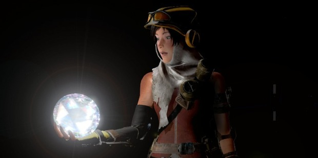 A scene from Xbox One exclusive, Recore.