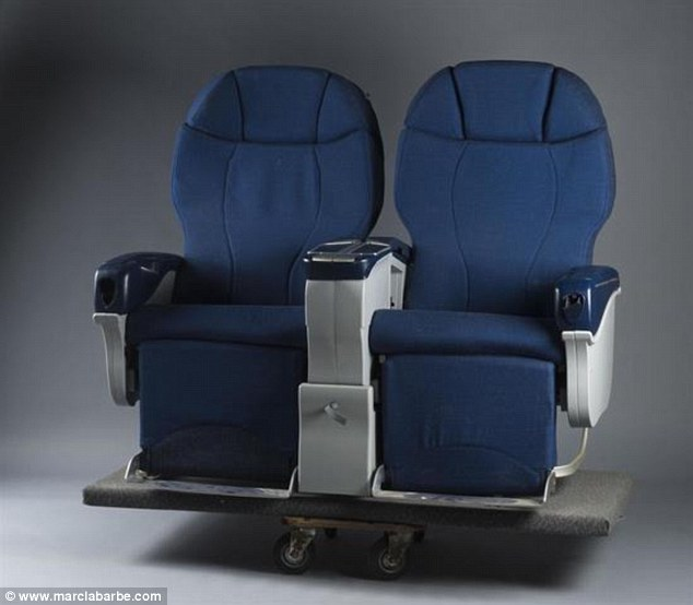 Seats - in sets of twos or threes - are expected to fetch up to NZ$4500. Photo / www.marclabarbe.com