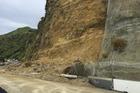The main road between Taranaki and Waikato is closed because of a rockfall. Photo / Supplied