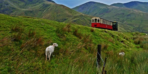 A tourist was told he could not board the scenic Snowdon Mountain Railway in Wales because a family of a 'large stature' was taking up too much room. Photo / 123rf
